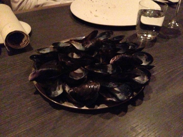 Blue mussel & celery