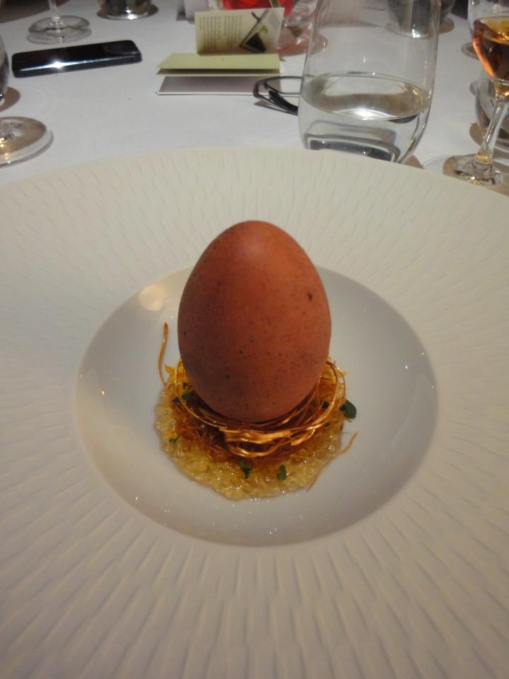 Eggs in Verjus, Verjus in Egg