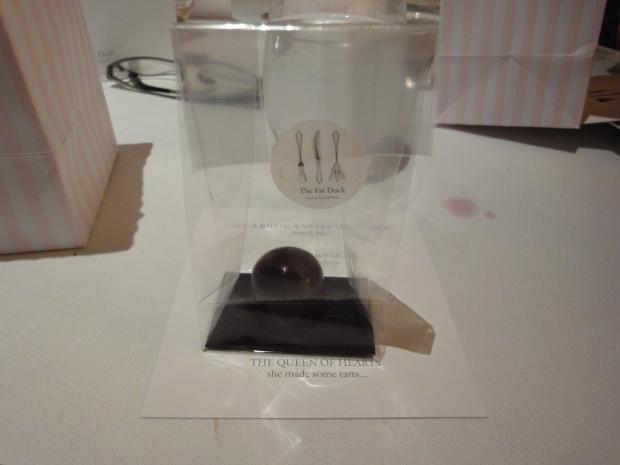 Aerated Chocolate, Mandarin Jelly